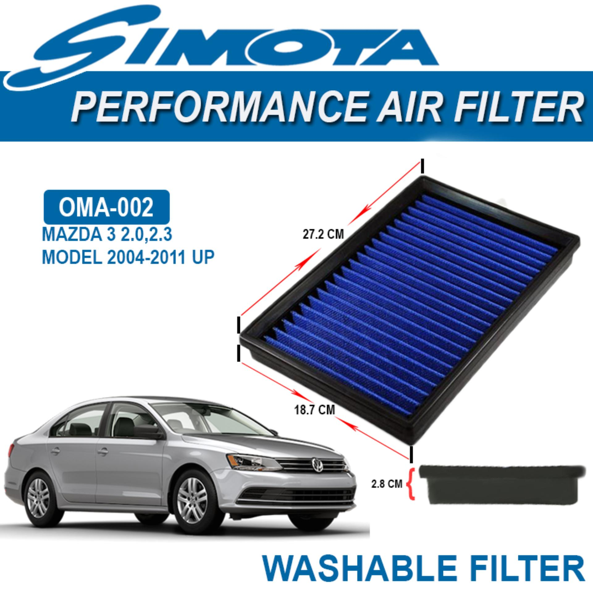 SIMOTA Performance Air Filters For Mazda 3 2.0 ,2.3 OMA 002