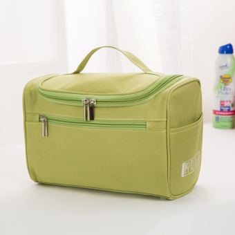 Simple portable large capacity large pouch travel wash bag