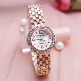 Simple quartz waterproof female student's watch women's watch