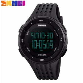 Skmei Casual Men Digital Quartz Sports Watch (Black)