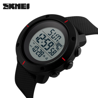 Skmei outdoor multi-functional men's waterproof Yeguang electronic watch military form