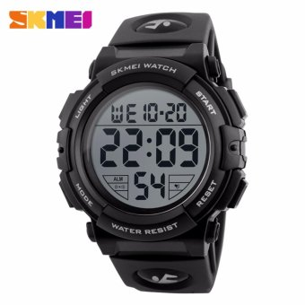Skmei Silicone Strap Men's Watch DG1258 (Black) Price Philippines