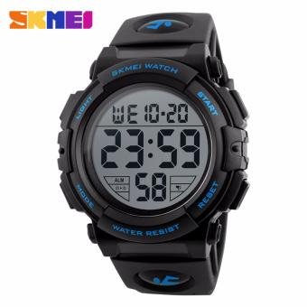 Skmei Silicone Strap Men's Watch DG1258 (Blue) Price Philippines
