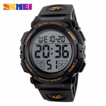 Skmei Silicone Strap Men's Watch DG1258 (Gold) Price Philippines