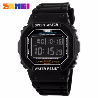 Skmei Silicone Strap Unisex Watch 1134 (Black) Price Philippines