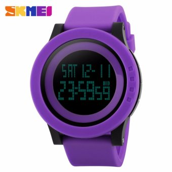 Skmei Silicone Strap Unisex Watch DG1142 (Purple) Price Philippines