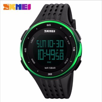 Skmei Silicone Strap Unisex Watch DG1219 (Green) Price Philippines