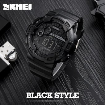SKMEI Watch 1243 Fashion Men Sports Watches LED Digital MilitaryWatch 50M Waterproof Casual Men Alarm Wristwatches RelogioMasculino - intl