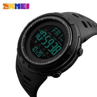 SKMEI Watch 1251 Famous Luxury Brand Mens Sport Watches ChronoCountdown Men Waterproof Digital Watch military Clock FashionRelojes Hombre - intl