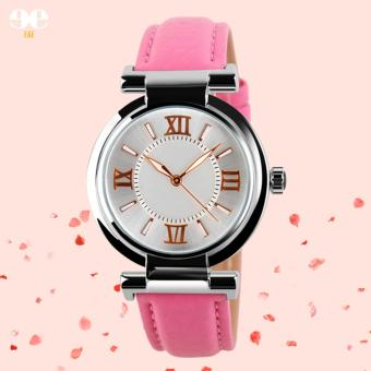 SKMEI Women's Leather Strap Quartz Watch Price Philippines