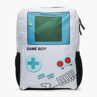 SM Accessories Kids Gameboy Backpack (White)