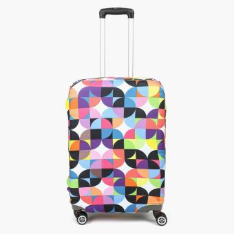 SM Stationery Patterned Medium Luggage Cover