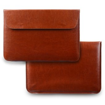 Smith Sursee Leather Laptop Sleeve Case Laptop Bag For Apple Macbook Air 13'' Brown