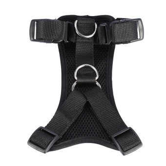 Soft Breathable Adjustable Nylon Dog Pet Seat Belt Car HarnessPuppy Walking Vest S (Black) - intl Price Philippines