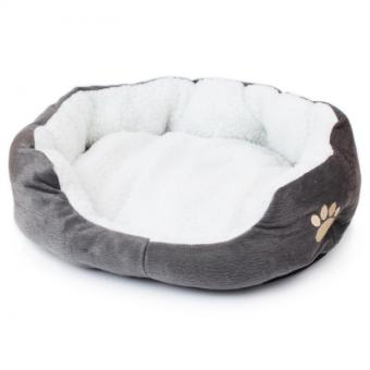 Soft Comfy Large Pet Bed Affinity Dogs Supplies (Grey) - Intl Price Philippines