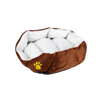Soft Fleece Indoor Pet Dog Cat Puppy Warm Bed ComfortableNestCushion