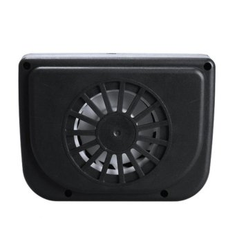 Solar Powered Car Auto Air Vent Cool Cooler Fan with RubberStripping