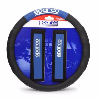 Sparco SPC1111KAZ Steering Wheel Cover and Shoulder Pads
