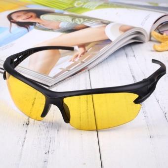 Sport Cycling Bicycle Riding Sun Glasses Eyewear Night Vision UV400 Driving - intl - 3