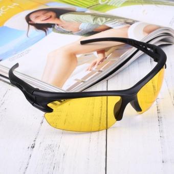 Sport Cycling Bicycle Riding Sun Glasses Eyewear Night Vision UV400 Driving - intl - 4