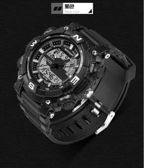 Sports outdoor waterproof tactical multifunction electronic watch
