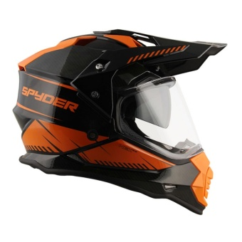 Spyder Dual Sport Helmet with Inner Visor Hex 2.0 GD Series 1