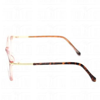 Square Clear Lens Replaceble Eyeglass_P3015_RedBrown Optical Frame Multi-coated Computer Anti-Radiation Blue Lens - Unisex - 5