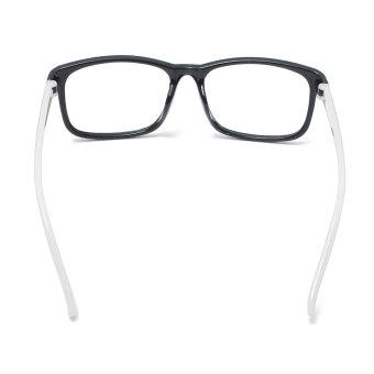 Square Lens-free Eyeglass Frame White - picture 2