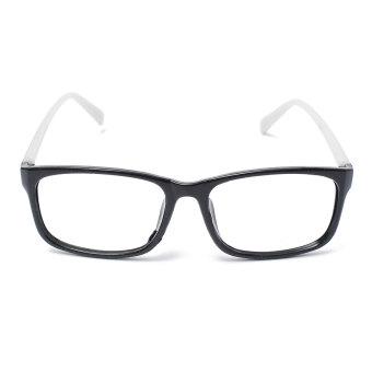 Square Lens-free Eyeglass Frame White