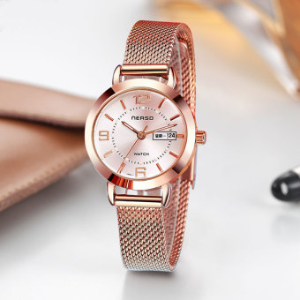 Stainless steel full automatic women's watch