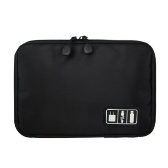 Storage Organizer Bag Earphone Digital USB Cable Pen Travel Insert Portable