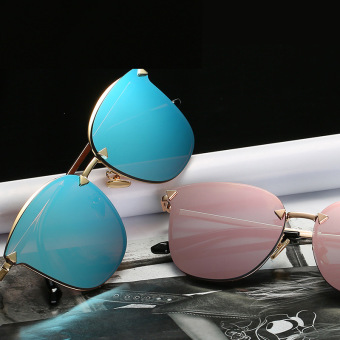 Stylish metal female New style SUN glasses sun glasses