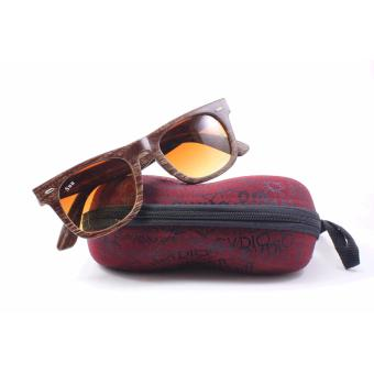 Sun Wood Style Sunglasses (Brown) Price Philippines