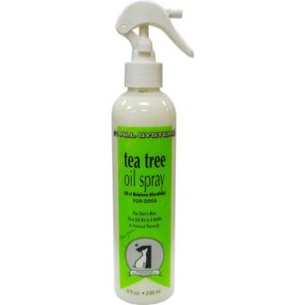 Super Effective Dog's Skin First Aid Kit #1 All Systems Tea TreeOil Spray 8oz