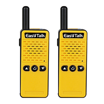 Super Mini Two Way Radio EasyTalk ET-M2 16 channel UHF 400-520MHz(2 pack, Yellow) - intl - 4