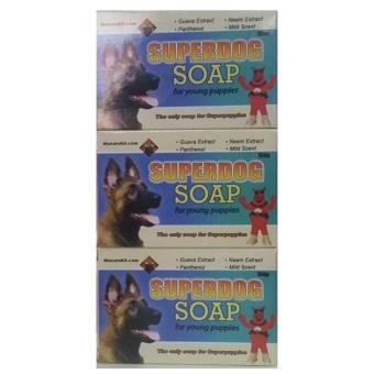 Superdog soap for young puppies Set of 3 (Turquoise) Price Philippines