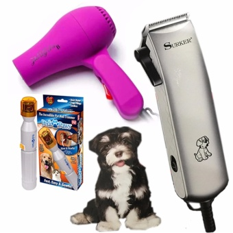 Surker Pet Hair Clipper(SK-107)3 sets Price Philippines