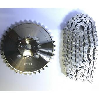 Taikom Sprocket set Raider 150(14T-41T/428H-130L)