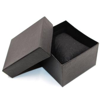TECH GEAR WOW Digital LED Slim Dots Unisex Black Silicone Strap Watch LEDDOTS012 - 2