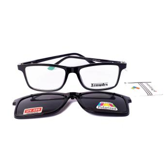 Temples MAGCLIP Rx Basic Prescription Frames model: XYQBD8058 BLACK Price Philippines