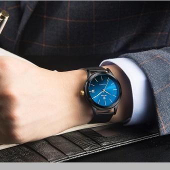 TEVISE Men Watches Gold Mesh Steel Automatic Mechanical Watch Luxury Brand Waterproof Men Watch Calendar Clock Relogio Masculino 9017 - intl - 5