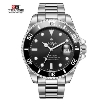 TEVISE Mens Fashion Sport Automatic Mechanical Watch Men Top Brand Luxury Full Steel Clock Waterproof Watches Relojes Masculino - intl