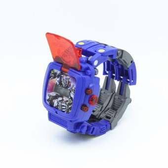 The transformers small men and women children Student Electronic watch