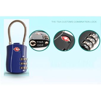 The TSA Customs Combination Lock Luggage Lock