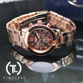Timeless Manila Caitlyn Chrono Metal Watch (Bronze) - 2