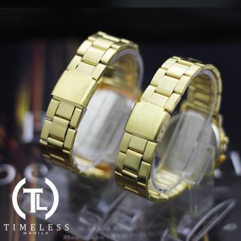 Timeless Manila Charlie Gold Metal Watch (Women) Buy 1 Take 1 - 4
