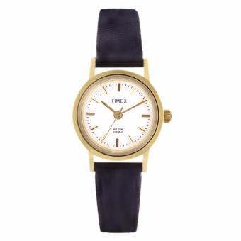 Timex Ladies Leather Watch TW00B300E