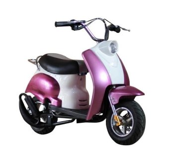 Tinker Motors 49cc CSR Pocket Rocket Classic Scooter (Pink/White) Price Philippines