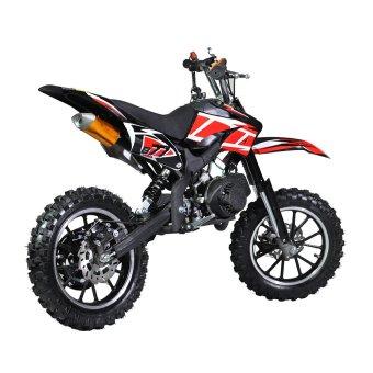 Tinker Motors Enduro DBS 49cc Pocket Rocket Dirt Bike - (Black) - picture 3