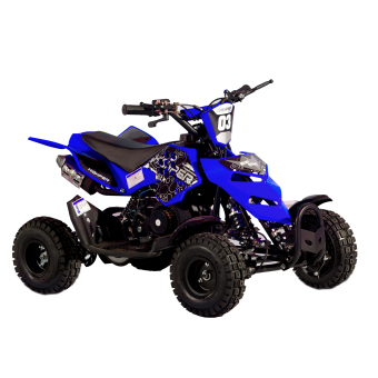 Tinker Motors RZR 49cc 2 Stroke Pocket Rocket Kids ATV (Blue)